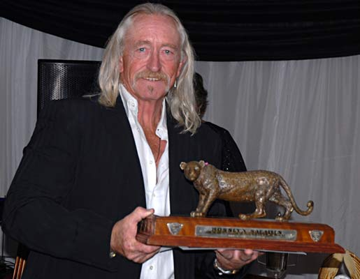 John Sharp -  Best Leopard 2010 at the Zimbabwe Professional Hunters & Guides Association Awards